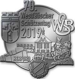 Festnadeln Westfälischer Schützentag Herford 2019